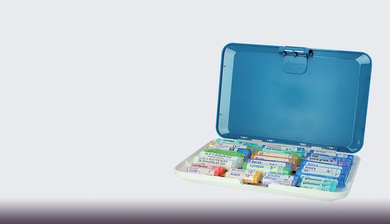 Pastillero especialmente diseñado para guardar tubos homeopáticos.