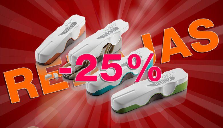 El Pilbox Cutter es a -25%